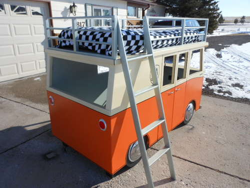 VW Bus Childs Bed And Playhouse
